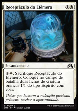 Receptáculo do Efêmero / Vessel of Ephemera