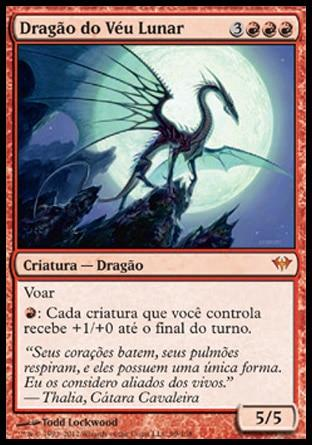 Dragão do Véu Lunar / Moonveil Dragon