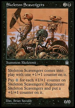 Esqueletos Escamotadores / Skeleton Scavengers