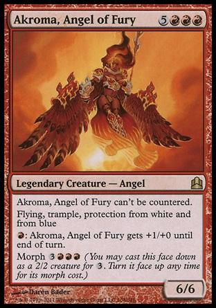 Akroma, Anjo da Fúria / Akroma, Angel of Fury