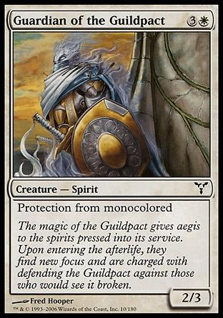 Guardião do Pacto das Guildas / Guardian of the Guildpact