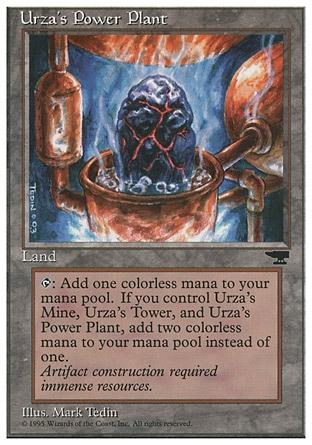 Usina de Urza (#98) / Urza's Power Plant (#98)