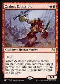 Recrutas Zelosos / Zealous Conscripts