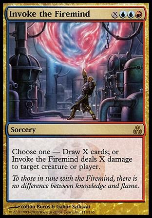 Invocar o Mente de Fogo / Invoke the Firemind