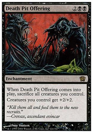 Oferenda do Fosso da Morte / Death Pit Offering