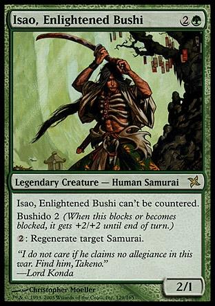 Isao, Bushi Iluminado / Isao, Enlightened Bushi
