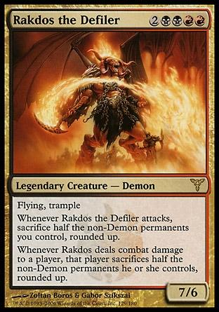 Rakdos, o Profanador / Rakdos the Defiler