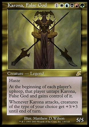 Karona, Falso Deus / Karona, False God