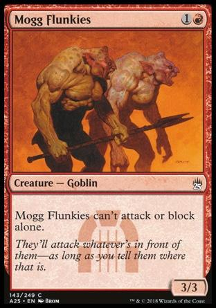 Moggs Confusos / Mogg Flunkies