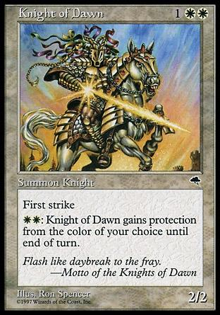 Cavaleiro do Alvorecer / Knight of Dawn