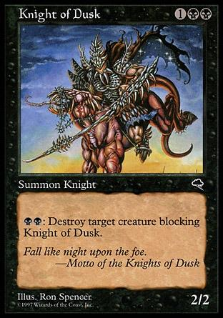 Cavaleiro do Ocaso / Knight of Dusk