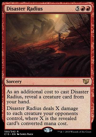 Raio do Desastre / Disaster Radius