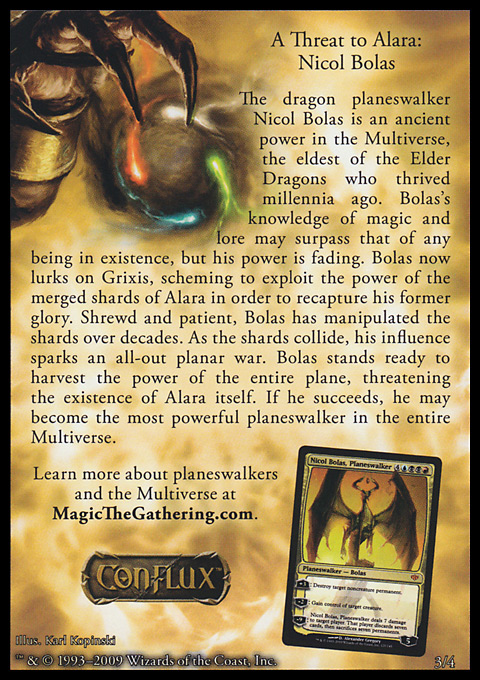 A Threat to Alara: Nicol Bolas