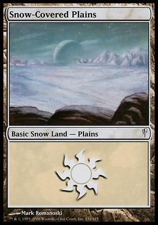 Planície da Neve / Snow-Covered Plains
