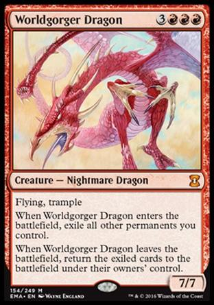 Dragão Engole-Mundos / Worldgorger Dragon