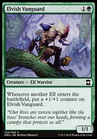 Vanguarda Élfica / Elvish Vanguard