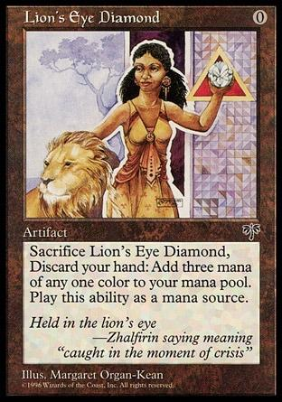 Diamante Olho de Leão / Lion's Eye Diamond