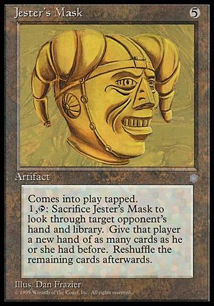 Máscara do Bufão / Jester's Mask