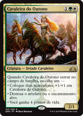 Cavaleira do Outono / Knight of Autumn
