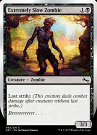 Extremely Slow Zombie
