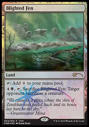 Charco Flagelado / Blighted Fen