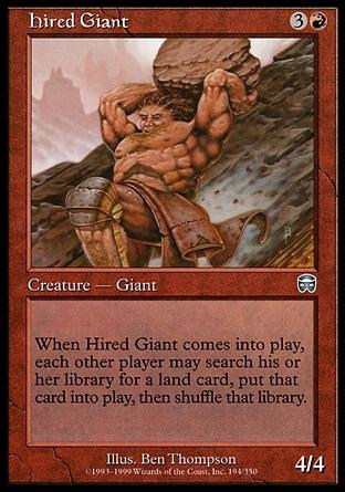 Gigante Contratado / Hired Giant