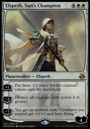 Elspeth, Campeã do Sol / Elspeth, Sun's Champion
