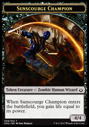 Sunscourge Champion 4/4
