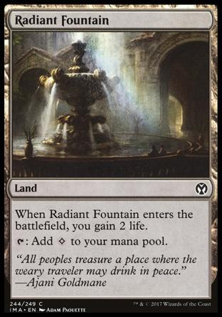 Fonte Radiante / Radiant Fountain
