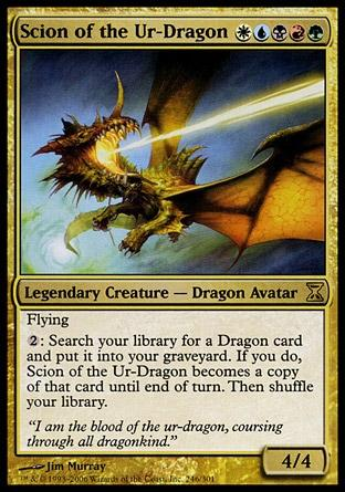 Herdeiro do Ur-Dragão / Scion of the Ur-Dragon