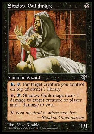 Mago da Guilda das Sombras / Shadow Guildmage