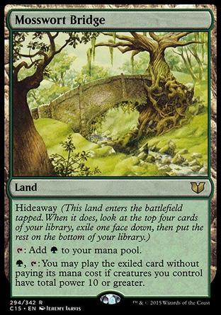 Ponte Musgomosto / Mosswort Bridge