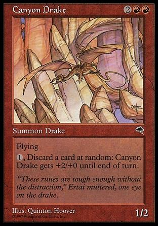 Dragonete do Desfiladeiro / Canyon Drake