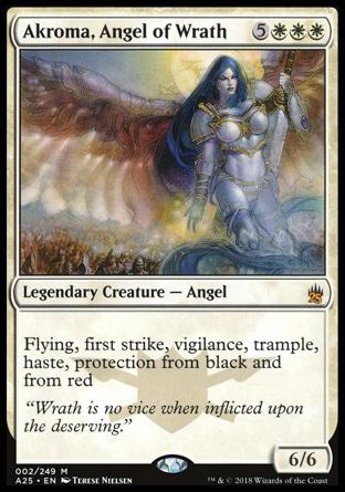 Akroma, Anjo da Ira / Akroma, Angel of Wrath