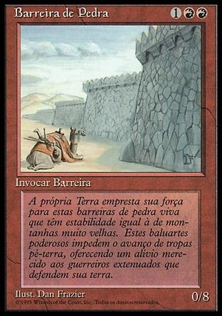Barreira de Pedra / Wall of Stone