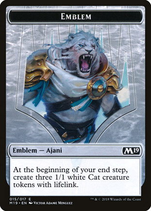 Emblema Ajani, Adversário dos Tiranos / Emblem Ajani, Adversary of Tyrants