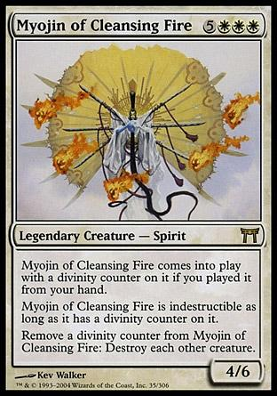 Myojin do Fogo Purificador / Myojin of Cleansing Fire