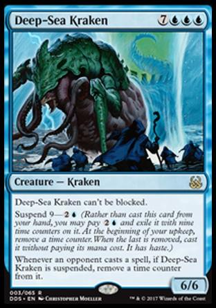 Kraken do Mar Profundo