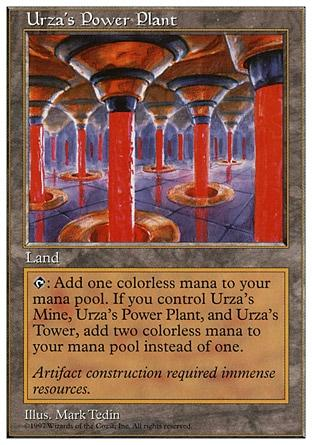 Usina de Urza / Urza's Power Plant