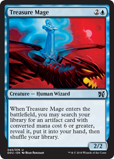 Mago do Tesouro / Treasure Mage