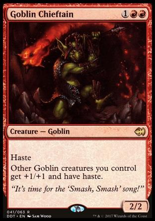 Chefe Goblin / Goblin Chieftain