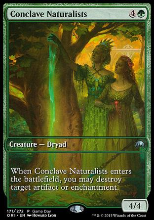 Naturalistas do Conclave / Conclave Naturalists