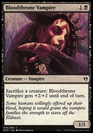 Vampiro do Sangue Real / Bloodthrone Vampire
