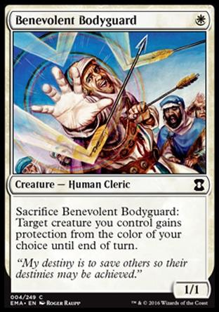 Guarda-Costas Benevolente / Benevolent Bodyguard