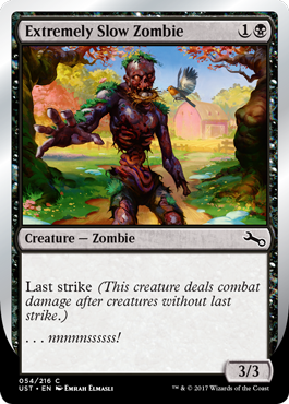 Extremely Slow Zombie (D)