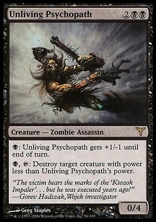 Psicopata Extinto / Unliving Psychopath