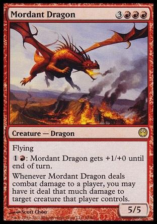 Dragão Mordaz / Mordant Dragon