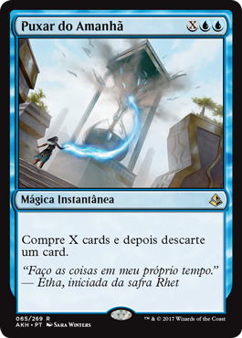 Puxar do Amanhã / Pull From Tomorrow