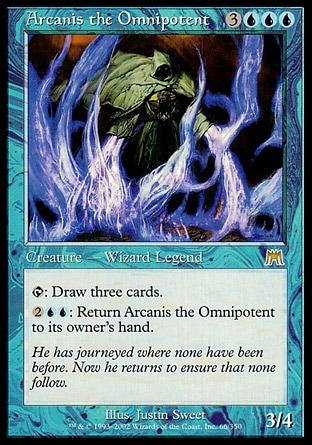 Arcanis, o Onipotente / Arcanis the Omnipotent