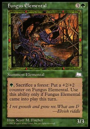 Elemental do Fungo / Fungus Elemental